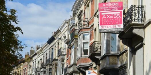 尽管发生危机布鲁塞尔的房地产价格仍在上涨