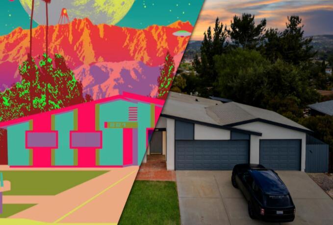 房地产市场火爆到失败的NFT拍卖 加州一栋房屋从尖端到传统的崩溃