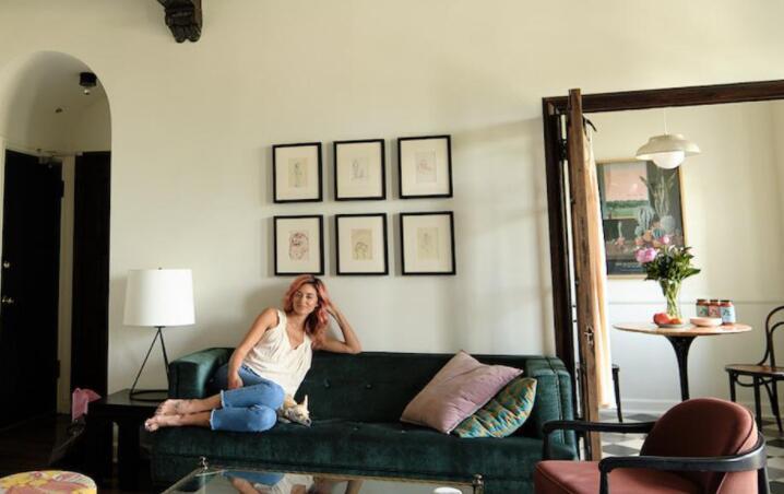 希尔斯的卡洛琳·达莫在卡洛塔别墅有了一个新的开始