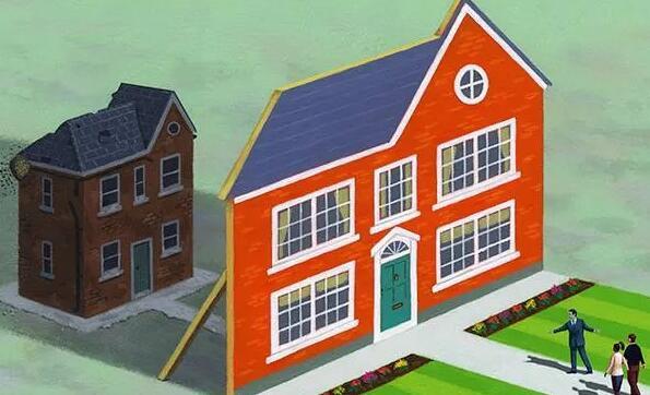 房地产市场一片狂热