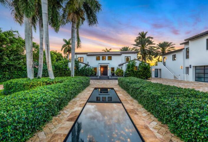 詹妮弗·洛佩兹和本·阿弗莱克价值1750万美元的迈阿密藏身之处