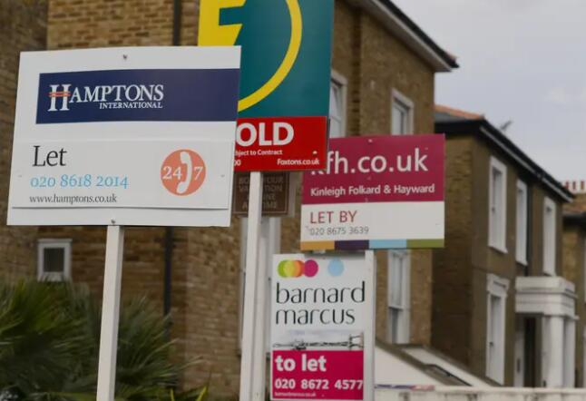 英国房价在夏季高点后企稳而伦敦的增长将落后四年多